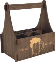 Коробка подарочная для бутылки Woodstrong 3077 (28x12x28) -