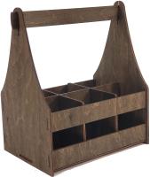 Коробка подарочная для бутылки Woodstrong 3078 (28x12x28) -