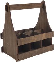 Коробка подарочная для бутылки Woodstrong 3079 (28x12x28) -