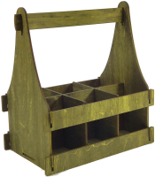 Коробка подарочная для бутылки Woodstrong 3080 (28x12x28) -