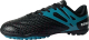Бутсы футбольные Novus NSB-20 Turf (черный/голубой, р-р 40) -