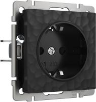 Розетка Werkel W1271008 / a052049 (черный) -