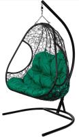 Кресло подвесное BiGarden Primavera Black (двойной) -