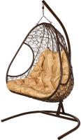 Кресло подвесное BiGarden Primavera Brown (двойной) -