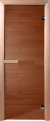 Стеклянная дверь для бани/сауны Doorwood 190x70