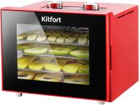 Сушка для овощей и фруктов Kitfort KT-1915-2 (красный) -