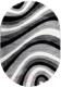 Ковер OZ Kaplan Messi Oval 0A310A (2x3, светло-серый) -