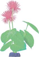 Декорация для аквариума GloFish Растение L / 19275 (желтый) -