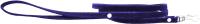 Поводок Humpo Милл / 331212-с (велюровый, синий) -