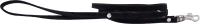 Поводок Humpo Милл / 331212 (велюровый, черный) -