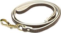 Поводок Humpo Ролл / 432220-3 (коричневый/ белый) -