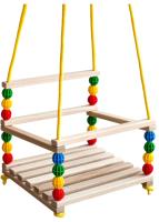 Качели Orion Toys Деревянные, подвесные / 20506 -
