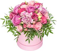 Цветы в коробке 21vek Pinkbox №5 -