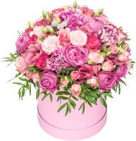 Цветы в коробке 21vek Pinkbox №7 -