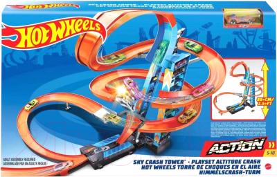 Автотрек гоночный Hot Wheels Mattel Hot Wheels / GJM76 mattel автотрек hot wheels винтовое столкновение