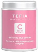 Порошок для осветления волос Tefia Color Creats голубой (500г) -