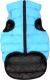 Куртка для животных AiryVest 1610 (S, черный/голубой) -