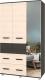 Шкаф Modern Виора В33 (венге/дуб млечный) -