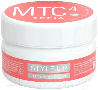Глина для укладки волос Tefia Style.Up Матовая сильной фиксации (75мл)