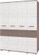 Шкаф Modern Виора В40 (ясень шимо темный/ясень шимо светлый) -