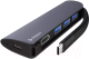 USB-хаб Deppa Type-C HDMI Power Delivery 3xUSB 3.0 / 73125 (графит) -