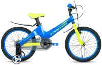 Детский велосипед Forward Cosmo 16 2.0 2021 / 1BKW1K7C1009 (синий/желтый) -