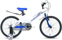 Детский велосипед Forward Cosmo 18 2.0 2021 / 1BKW1K7D1026 (белый/синий) -