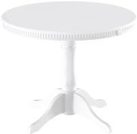Обеденный стол ТриЯ Орландо Т1 Б-111 исп 2 (белый матовый) -