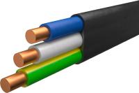 Кабель силовой Ecocable ВВГ-П 3x1.5 ок (N / PE) - 0.66 (10м) -