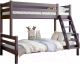 Двухъярусная кровать Мебельград Адель (лаванда) -