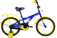 Детский велосипед Forward Crocky 18 2021 / 1BKW1K1D1017 (синий/желтый) -