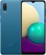 Смартфон Samsung Galaxy A02 / SM-A022GZBBSER (синий) -