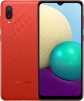 Смартфон Samsung Galaxy A02 / SM-A022GZRBSER (красный) -