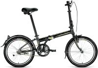Велосипед Forward Enigma 20 1.0 2021 / 1BKW1C401002 (черный/бежевый) -