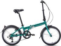 Велосипед Forward Enigma 20 2.0 2021 / 1BKW1C407003 (зеленый/коричневый) -