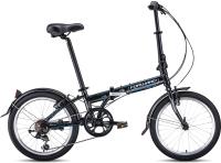 Велосипед Forward Enigma 20 2.0 2021 / 1BKW1C407002 (черный/белый) -