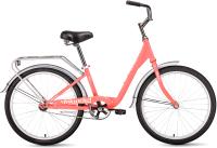 Велосипед Forward Grace 24 2021 / RBKW1C141002 (коралловый/бежевый) -