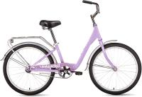 Велосипед Forward Grace 24 2021 / RBKW1C141003 (сиреневый/белый) -