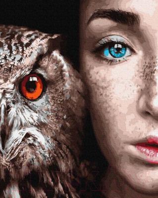 Картина по номерам Picasso Взгляд красивых глаз (PC4050806)