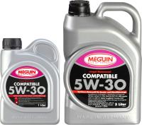 Моторное масло Meguin Megol Compatible 5W30 / 6562+6561 (5л+1л) -