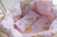Комплект постельный в кроватку Баю-Бай Нежность / К91-Н1 (розовый) -