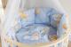 Комплект постельный в кроватку Баю-Бай Нежность / К91-Н4 (голубой) -
