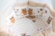 Комплект постельный в кроватку Баю-Бай Раздолье К91-Р2 (бежевый) -