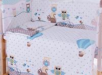 Комплект постельный в кроватку Баю-Бай Раздолье / К30-Р4 (голубой) -