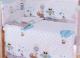 Комплект постельный в кроватку Баю-Бай Раздолье К31-Р4 (голубой) -