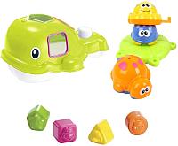 Набор игрушек для ванной Haiyuanquan Морские обитатели / 8817 -