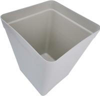 Мусорное ведро ZETA ПЛ-014836 (40л, серый) -