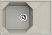 Мойка кухонная GranFest GF-U-740L (топаз) -