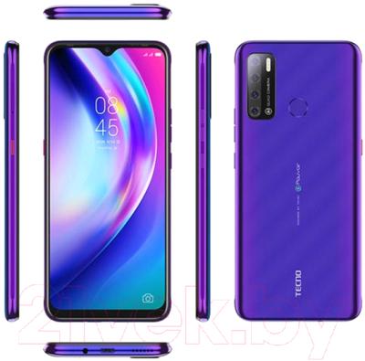 Смартфон Tecno Pouvoir 4 / LC7 (Fascinating Purple)