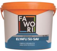 Гидроизоляционная мастика Fawori Fibrous Aquablock с фиброволокном (1кг) -